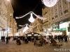 Bécsi adventi belváros.