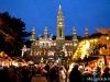 Bécs városháza (Rathaus) 2011 advent harmadik vasárnapján.
