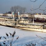Szőke Tisza télen (Fotó: Ráday Mihály)